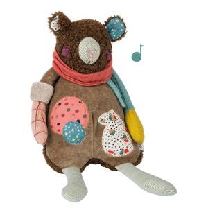Les Jolis Trop Beaux Musical Bear Soft Toy