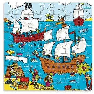 Puzzle 49 pièces : Les Pirates arrivent VILAC