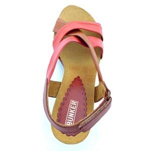 Sandalias de piel Liz BUNKER