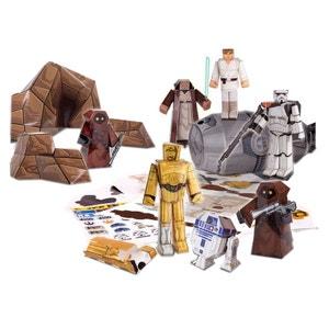 Star Wars - Set Papercraft Escape Pod Desert Pack JAZWARES