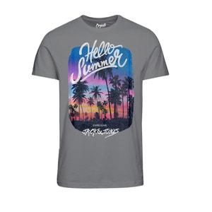 Cotton Crew Neck T-Shirt JACK & JONES