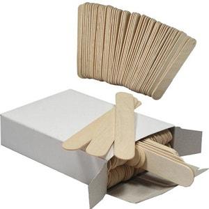 Spatule en bois pour épilation à la cire (sachet de 100)