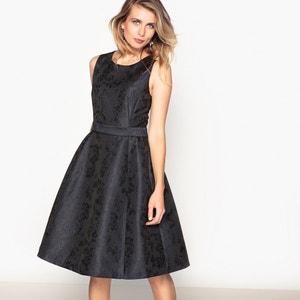 Plain Sleeveless Knee-Length Skater Dress ANNE WEYBURN