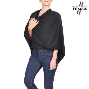 Poncho FANNY Noir - Fabriqué en France QUALICOQ