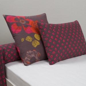 BOUTAN Cotton Pillowcase or Bolster Case La Redoute Interieurs