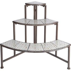 Quart d'étagère en céramique et métal Botanicae ESSCHERT DESIGN