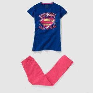 Pyjama jersey SUPERGIRL, 10 - 16 ans SUPERMAN