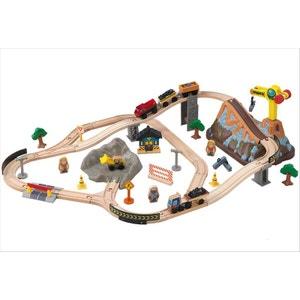 Circuit de Train Construction Bucket Top - KID17805 KIDKRAFT
