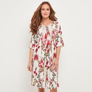 Rozkloszowana sukienka z kwiecistym wzorem JOE BROWNS