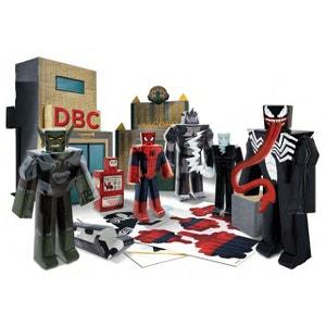 Spider-Man Ultimate - Set Papercraft Battle at Oscorp Deluxe Pack JAZWARES
