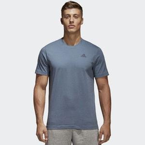 T-shirt tinta unita con scollo rotondo ADIDAS PERFORMANCE