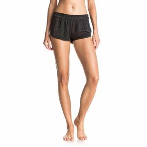 Shorts sportivi tinta unita nero SURFN GO SHORT J CVUP KVJ0 ROXY