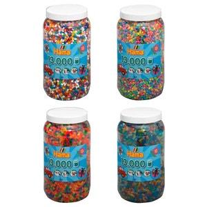 Hama TW10377717 Set de quatre pots de perles à repasser (env. 52000) HAMA