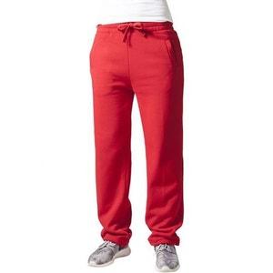 Bas de jogging URBAN CLASSICS Rouge décontractée avec cordon élastique URBAN CLASSICS