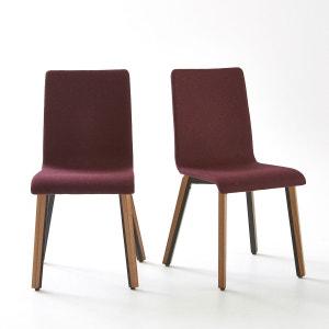 Chaise revêtement feutrine, (lot de 2) Joan La Redoute Interieurs