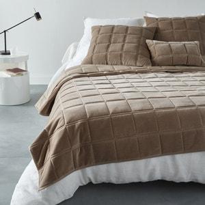 PADOUE Velour Quilted Bedspread. La Redoute Interieurs