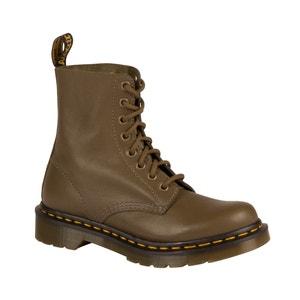 Boots en cuir à lacets PASCAL DR MARTENS