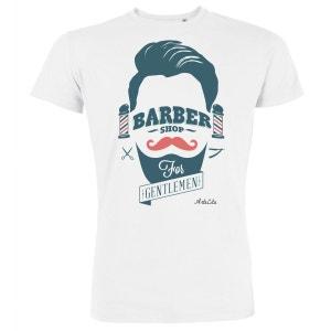 Tshirt Imprimé Bio Homme - Barber shop ARTECITA