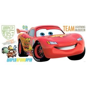 Stickers géant Flash McQueen Cars Disney DISNEY CARS