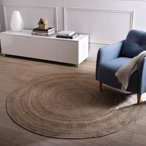 Tapete em juta, Ø160 cm, cor. natural, Aftas La Redoute Interieurs