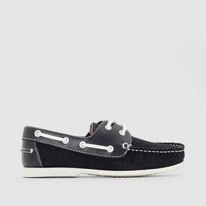 Туфли-лодочки из невыделанной кожи La Redoute Collections