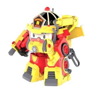 Robocar Poli - Véhicule Transformable Roy Action Pack Super Fireman - SIL83314 OUAPS
