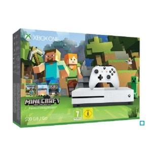 Xbox One S 500GB + Minecraft + DLC XBOX One MICROSOFT
