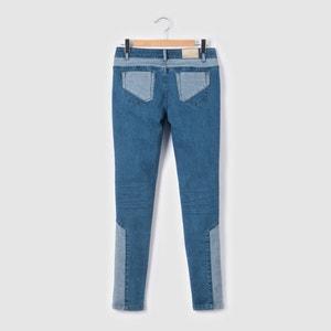 Jeans skinny com remendos, 10-16 anos R pop