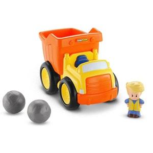 Mattel BDY81 Little People - Camion Benne avec effet sonore MATTEL