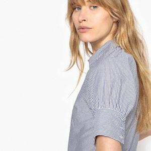 Gestreiftes Hemd, verengte kurze Ärmel La Redoute Collections