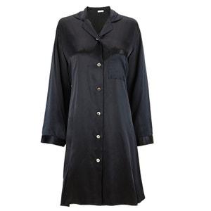 Silk Classic Robe Chemise Boutonnée EVA B BITZER
