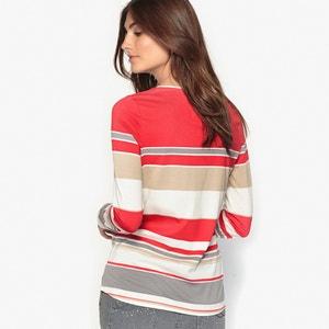 T-shirt rayé, coton & modal ANNE WEYBURN