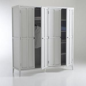 Eugénie 4-Door Wardrobe La Redoute Interieurs