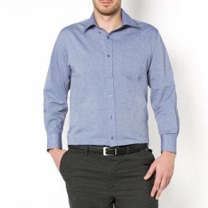 Рубашка однотонная с длинными рукавами CASTALUNA FOR MEN