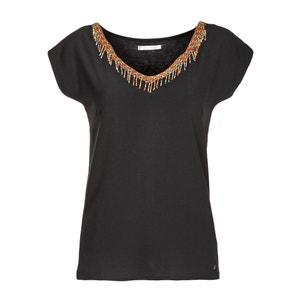 T-shirt con dettagli frange, maniche corte LPB WOMAN
