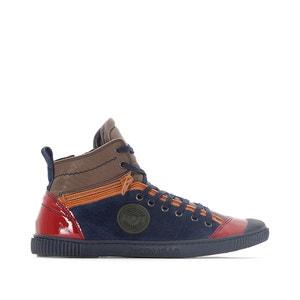 Hoge sneakers in leer Banjou PATAUGAS