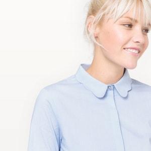Рубашка с красивым воротником, из хлопка MADEMOISELLE R