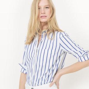 Straight Cotton Striped Shirt R essentiel