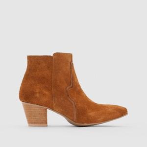 Boots cuir R studio