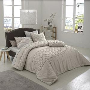 couvre lit beige la redoute. Black Bedroom Furniture Sets. Home Design Ideas