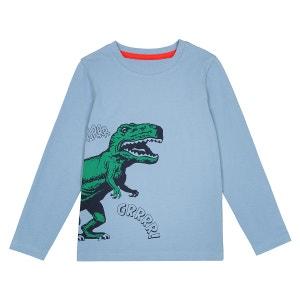 "T-shirt motif ""dinosaure"" 3-12 ans La Redoute Collections"