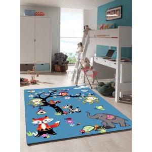 Tapis chambre enfant SKY JUNGLE PARTY Tapis Enfants par Unamourdetapis UN AMOUR DE TAPIS