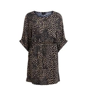 Printed Batwing Sleeve Dress VILA