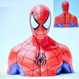 Tirelire en PVC Buste de Spiderman ABYSSE CORP