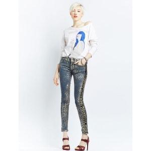 Jeans Super Skinny Imprimé animal RICH ET ROYAL