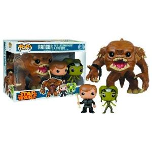 Star Wars pack 3 POP! Vinyl figurines Rancor, Luke Skywalker & Slave Oola 9 - 15 cm STAR WARS