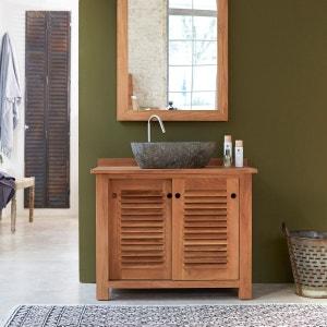 Meubles Sdb Teck La Redoute - Meuble salle de bains en teck