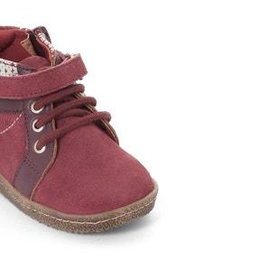 Metallic Dual Fabric Ankle Boots R mini