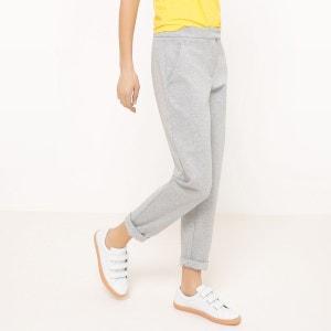 Pantalon droit, molleton La Redoute Collections