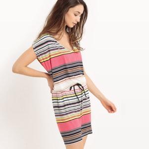 Sleeveless Striped Dress BEST MOUNTAIN